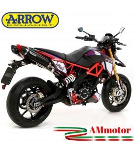 Arrow Aprilia Dorsoduro 900 Terminali Di Scarico Moto Marmitte Thunder Inox Nero Omologati