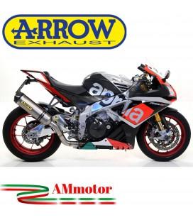 Arrow Aprilia Rsv 4 RR / RF 15 - 2016 Terminale Di Scarico Moto Marmitta Race-Tech Titanio Omologato