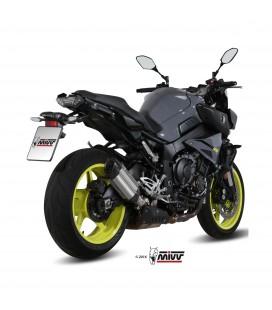 Mivv Yamaha Mt-10 Terminale Di Scarico Marmitta Suono Inox Moto Omologato