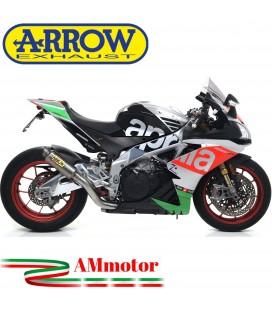 Arrow Aprilia Rsv 4 RR / RF 17 - 2018 Terminale Di Scarico Moto Marmitta GP2 Titanio Omologato