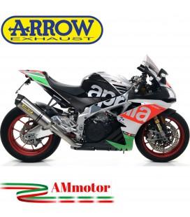Arrow Aprilia Rsv 4 RR / RF 17 - 2018 Terminale Di Scarico Moto Marmitta Race-Tech Titanio Omologato
