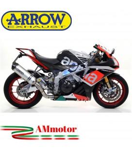 Arrow Aprilia Rsv 4 RR / RF 17 - 2018 Terminale Di Scarico Moto Marmitta Race-Tech Inox Omologato