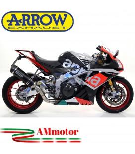 Arrow Aprilia Rsv 4 RR / RF 17 - 2018 Terminale Di Scarico Moto Marmitta Race-Tech Inox Nero Omologato