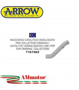 Arrow Aprilia Rsv 4 RR / RF 17 - 2018 Raccordo Catalitico Per Scarico Moto Omologato