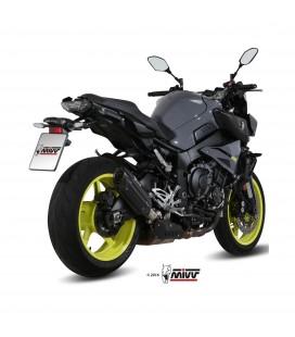 Mivv Yamaha Mt-10 Terminale Di Scarico Marmitta Suono Black Moto Omologato