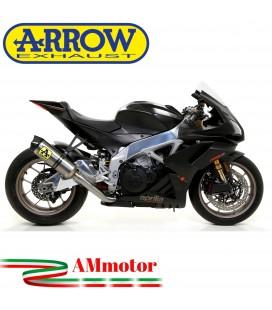 Arrow Aprilia Rsv4 1100 Factory 19 - 2020 Terminale Di Scarico Moto Marmitta Race-Tech Titanio Omologato