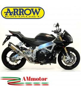 Arrow Aprilia Tuono V4R / V4R APRC 11 - 2015 Terminale Di Scarico Moto Marmitta Race-Tech Titanio Omologato