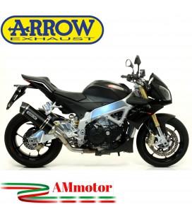 Arrow Aprilia Tuono V4R / V4R APRC 11 - 2015 Terminale Di Scarico Moto Marmitta Race-Tech Inox Nero Omologato