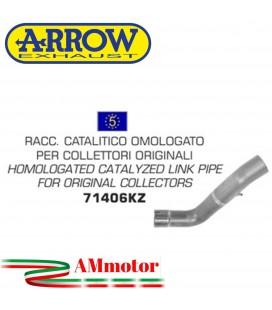 Arrow Aprilia Tuono V4R / V4R APRC 11 - 2015 Raccordo Catalitico Per Scarico Moto Omologato