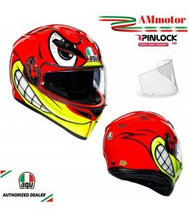 Casco Agv K3 Sv Birdy Multi Doppia Visiera Max Pinlok Moto