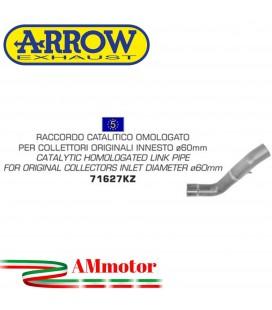 Arrow Aprilia Tuono V4 1100 15 - 2016 Raccordo Catalitico Per Scarico Moto Omologato Diametro 60MM