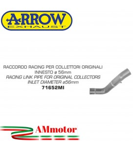 Arrow Aprilia Tuono V4 1100 15 - 2016 Raccordo Racing Per Scarico Moto Diametro 56MM