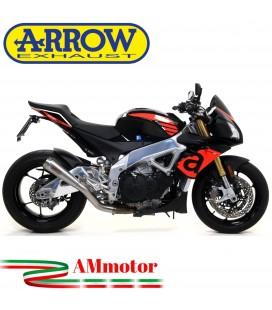 Arrow Aprilia Tuono V4 1100 17 - 2018 Terminale Di Scarico Moto Marmitta Pro-Race Nichrom Racing