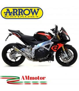 Arrow Aprilia Tuono V4 1100 17 - 2018 Terminale Di Scarico Moto Marmitta GP2 Titanio Omologato