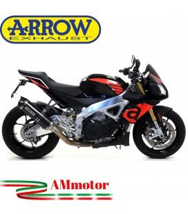 Arrow Aprilia Tuono V4 1100 17 - 2018 Terminale Di Scarico Moto Marmitta Race-Tech Carbonio Omologato