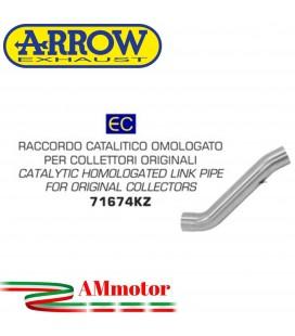 Arrow Aprilia Tuono V4 1100 17 - 2018 Raccordo Catalitico Per Scarico Moto Omologato