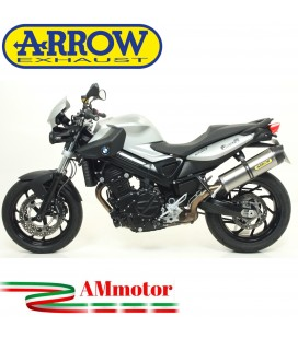 Arrow Bmw F 800 R 09 - 2016 Terminale Di Scarico Moto Marmitta Race-Tech Titanio Omologato