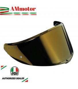 Visiera Agv K6 Iridium Gold MKLP Specchio Oro Casco Integrale Moto