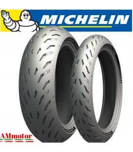 Power 5 120/70 + 200/55 Michelin Coppia Pneumatici Gomme Moto