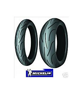 Pilot Power 2CT 120/70 + 180/55 Michelin Coppia Pneumatici Gomme Moto