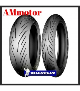 Pilot Power 3 120/70 + 180/55 Michelin Coppia Pneumatici Gomme Moto