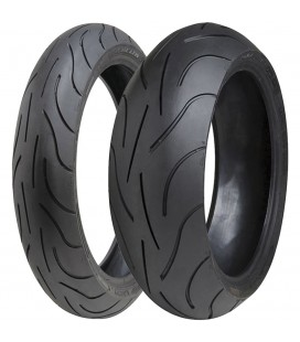 Pilot Power 120/70 + 180/55 Michelin Coppia Pneumatici Gomme Moto