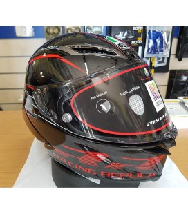 Casco Agv Pista GP RR Performance Carbon Red Integrale Moto
