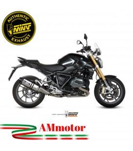 Mivv Bmw R 1200 R / RS Terminale Di Scarico Moto Marmitta Speed Edge Inox Omologato