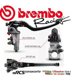 Pompa Brembo Radiale Rcs 19 Corsa Corta Freno Anteriore Racing Moto