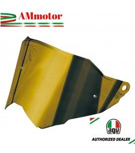 Visiera Agv AX9 Iridium Gold Oro Casco Integrale Moto