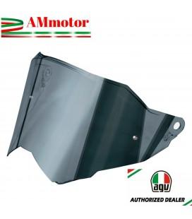 Visiera Agv AX9 Iridium Silver Argento Casco Integrale Moto