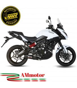 Mivv Kawasaki Versys 650 Terminale Di Scarico Moto Marmitta Oval Carbon Cap