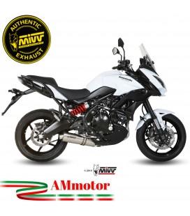 Mivv Kawasaki Versys 650 Terminale Di Scarico Moto Marmitta Oval Inox