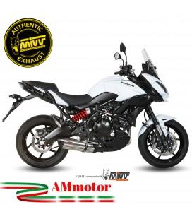 Mivv Kawasaki Versys 650 Terminale Di Scarico Moto Marmitta Suono Inox