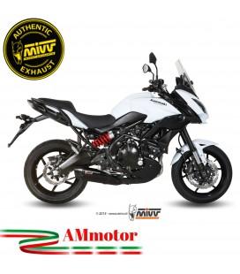 Mivv Kawasaki Versys 650 Terminale Di Scarico Moto Marmitta Suono Black