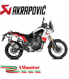 Akrapovic Yamaha Tenere 700 Terminale Di Scarico Slip-On Titanio Moto Omologato