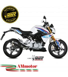 Scarico Completo Mivv Bmw G 310 R Terminale Gp Pro Black Inox Nero Moto