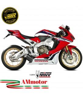Mivv Honda Cbr 1000 RR 17 - 2019 Terminale Di Scarico Moto Marmitta Mk3 Carbonio Basso