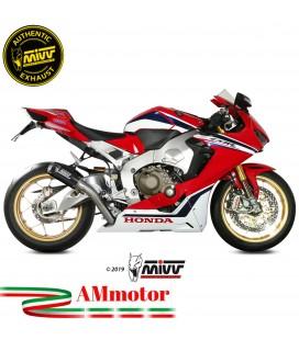 Mivv Honda Cbr 1000 RR 17 - 2019 Terminale Di Scarico Moto Marmitta Mk3 Carbonio