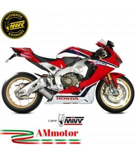 Mivv Honda Cbr 1000 RR 17 - 2019 Terminale Di Scarico Moto Marmitta Mk3 Inox Basso