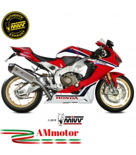 Mivv Honda Cbr 1000 RR 17 - 2019 Terminale Di Scarico Moto Marmitta Speed Edge Inox Omologato