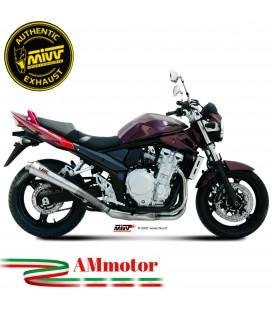 Mivv Suzuki Gsf 650 Bandit Terminale Di Scarico Moto Marmitta X-Cone Inox Omologato