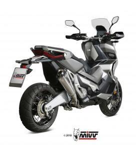 Mivv Honda X-Adv 750 Terminale Di Scarico Delta Race Inox Moto Scooter Omologato