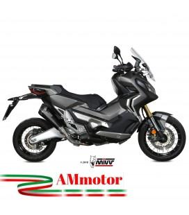 Mivv Honda X-Adv 750 Terminale Di Scarico Delta Race Black Moto Scooter Omologato