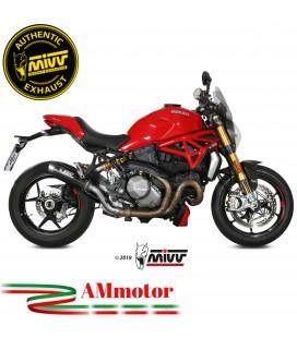 Mivv Ducati Monster 1200 17 - 2020 Terminale Di Scarico Moto Marmitta Gp Pro Carbonio