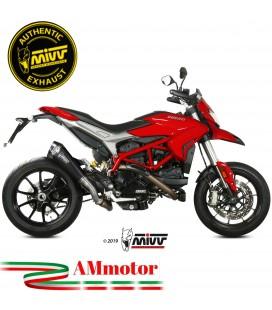 Mivv Ducati Hypermotard 939 16 - 2018 Terminale Di Scarico Moto Marmitta Delta Race Inox Nero