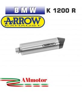 Arrow Bmw K 1200 R 05 - 2008 Terminale Di Scarico Moto Marmitta Race-Tech Titanio Omologato