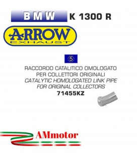 Raccordo Catalitico Bmw K 1300 R 09 - 2016 Arrow Moto Per Collettori Originali Omologato