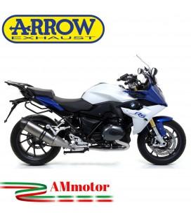 Arrow Bmw R 1200 R / RS 15 - 2016 Terminale Di Scarico Moto Marmitta Race-Tech Titanio Omologato