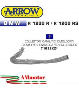 Bmw R 1200 R / RS 15 - 2016 Arrow Moto Collettori Di Scarico Catalitici Omologati